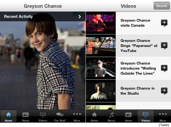greyson chance app