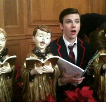 Chris Colfer, Nina Dobrev and Other Celebs Tweet Holiday Photos