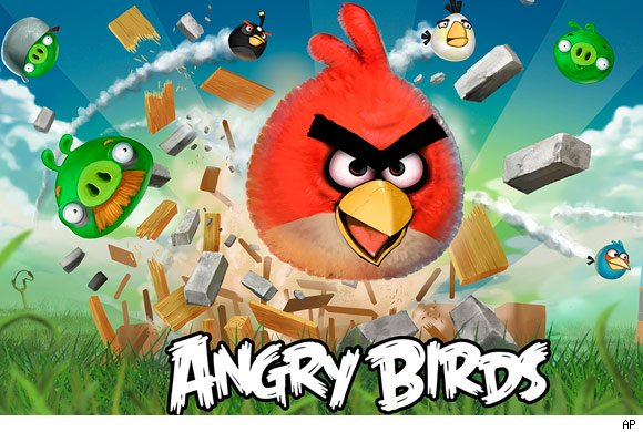 Angy Birds for PS3 and PSP