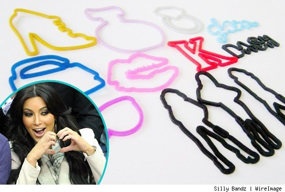Kim Kardashian Blogs About New 'Kardashian Glam' Silly Bandz