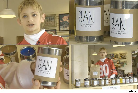 Ohio Teen Sells Man-Scented Candles