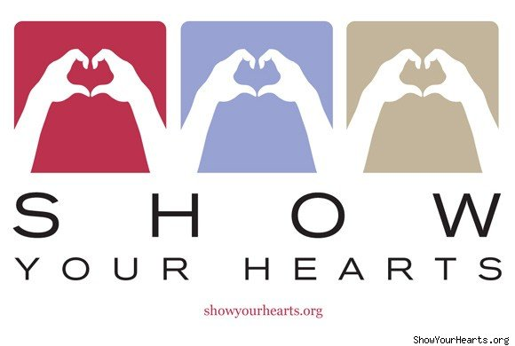 Show Your Hearts logo
