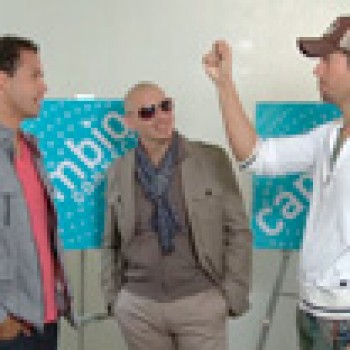 Connect w/Frankie at Comic-Con and Pitbull & Enrique Iglesias