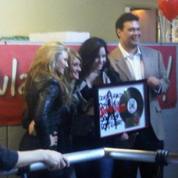 Demi Lovato Receives Gold Plaque