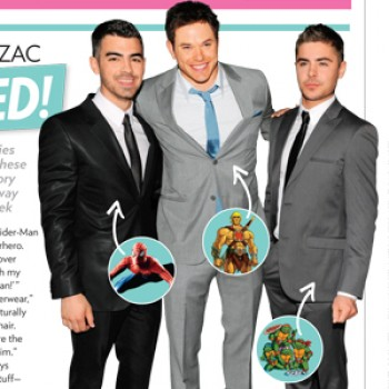 Joe Jonas, Kellan Lutz & Zac Efron Talk Superheroes