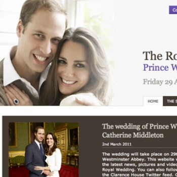 The Palace Launches the Official Royal Wedding Website