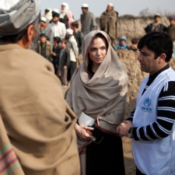 Angelina Jolie Makes Surprise Visit to Afghanistan