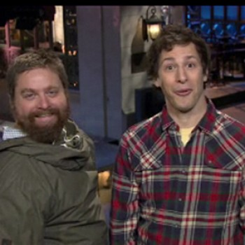 Zach Galifianakis Hosting Saturday Night Live This Weekend