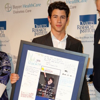 Nick Jonas Attends Carnival for a Cure