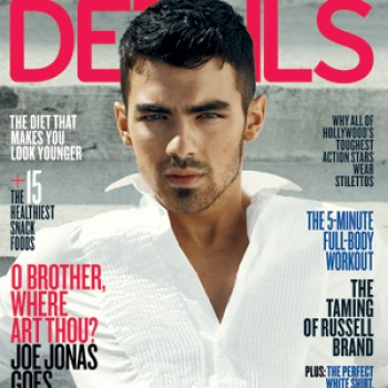 "Joe Jonas in Details Magazine: ""I'm Growing Up"""