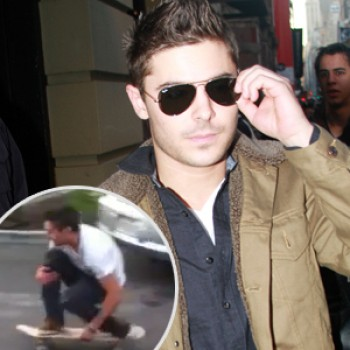 Zac Efron: Skateboarding Fun with Friends