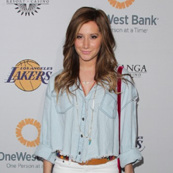Ashley Tisdale Talks Hair, Cheerleading &amp;amp; Capn Crunch on Leno