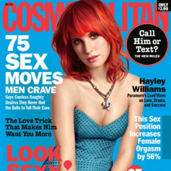 Hayley Williams Conflicted Over Cosmo Cover
