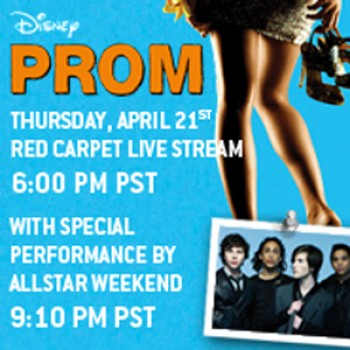 "EXCLUSIVE: Live Stream the Disney ""Prom"" Red Carpet & Allstar Weekend Performance on Thursday!"