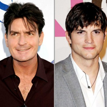 "Charlie Sheen Finally Congrats Kutcher over ""Two & A Half Men"""