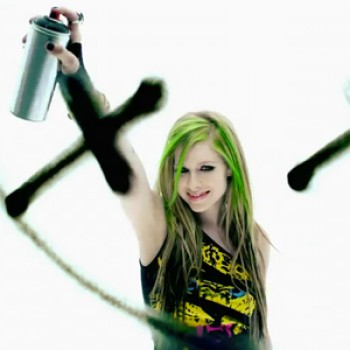 "Avril Lavigne Releases ""Smile"" Music Video"