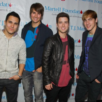 Big Time Rush &amp;amp; Allstar Weekend Hang Out at TJ Martell's Family Day