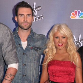 Christina Aguilera & Adam Levine Record Collaboration