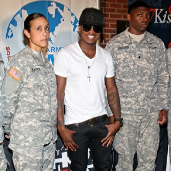 Ne-Yo Holds Free Concert for Troops