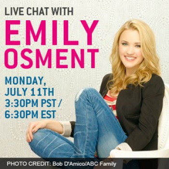 EXCLUSIVE: Live Chat with &quot;Cyberbully&quot; Stars Emily Osment &amp;amp; Kay Panabaker on Monday