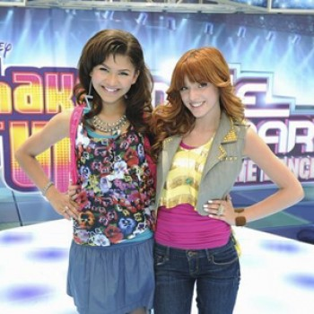 "EXCLUSIVE: Bella Thorne & Zendaya ""Shake It Up"" at the Americana for Make Your Mark: Ultimate Dance Off Search (Video)"