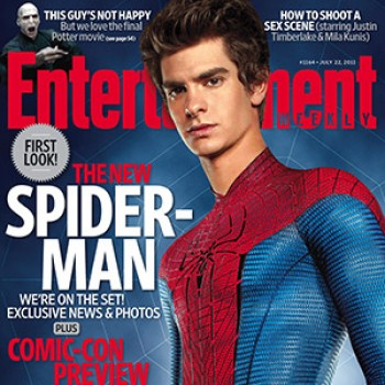 Andrew Garfield Covers Entertainment Weekly as Spider-Man