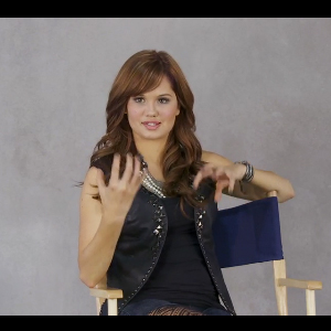 "Debby Ryan is ready to take off in her new show ""Jessie."" It was just"