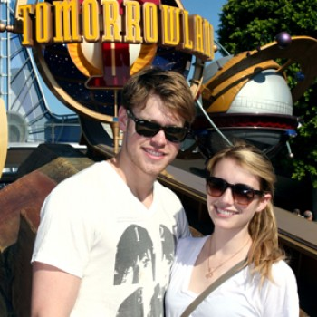 Emma Roberts & Chord Overstreet: Happiest Place on Earth Date