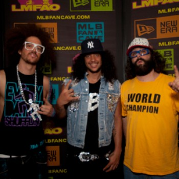 "LMFAO Bring ""Party Rock Anthem"" to MLB Fan Cave"