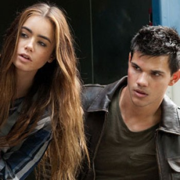 Taylor Lautner &amp;amp; Lily Collin's Romance Outed by &quot;Abduction&quot; Costar