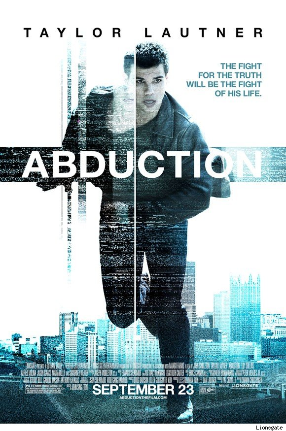 Taylor Lautner in new Abduction poster