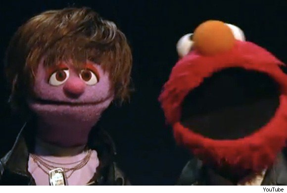 Justin BIeber Lookalike on Sesame Street