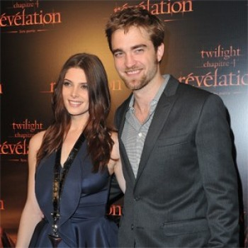 'Breaking Dawn' Stars Robert Pattinson And Ashley Greene Premiere 'Revelation' In Paris