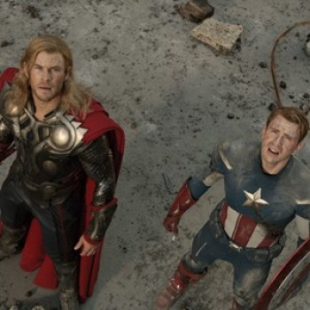Chris Hemsworth & Chris Evans: New Photos from 'The Avengers'