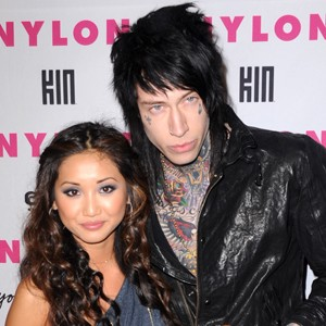 Brenda Song Trace Cyrus Engaged