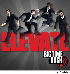 Big Time Rush Elevate album cover