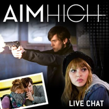 """Aim High"" Live Chat with Aimee Teegarden and Jackson Rathbone"