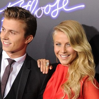 "On The Red Carpet At The ""Footloose"" Premiere"