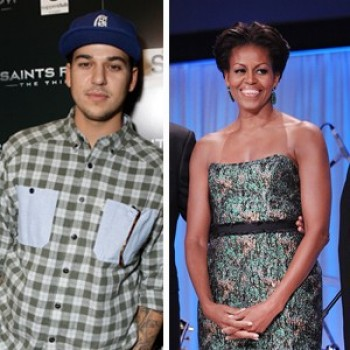 Rob Kardashian Responds to Obamas: 'Obviously Someone's Watching It'