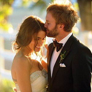 Nikki Reed Paul McDonald Wedding Photo