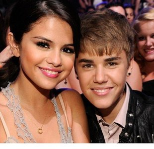 justin bieber with selena gomez together 2012
