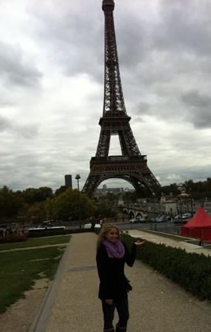 Tiffany Thornton Paris Eiffel Tower