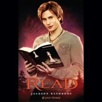 Jackson Rathbone Reveals Prank He Pulled During His 'READ' Poster Shoot (Video)