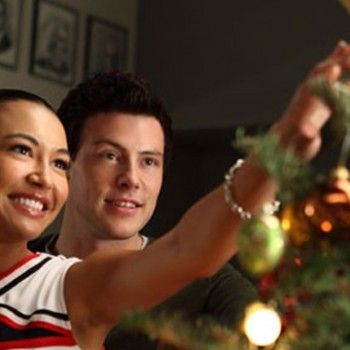Naya Rivera Covers 'Santa Baby' for 'Glee' Christmas Album