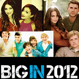 ariana grande, hunger games, karmin, one direction, zooey deschanel
