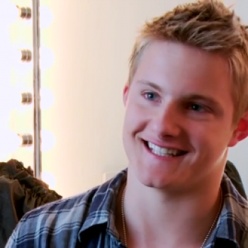 'The Hunger Games' Seventeen Magazine Photo Shoot with Alexander Ludwig