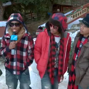 Exclusive: Behind the Scenes of Mindless Behavior's Christmas Video
