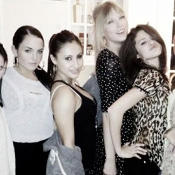 JoJo Tweets Pic of 'Girfriends' Taylor Swift, Selena Gomez and Francia Raisa