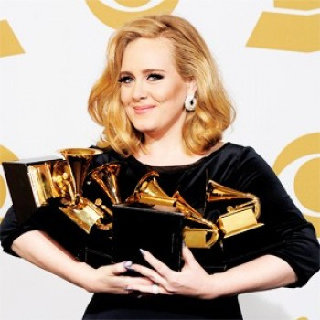 CLICKWORTHY Grammys Edition: Adele Wins Big; Lady Gaga, Nicki Minaj Are Worst Dressed
