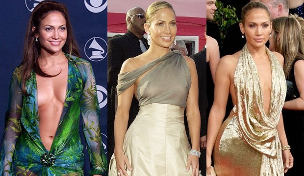 Oscars 2012: Jennifer Lopez's Nipple and Angelina Jolie's Leg Have ...
